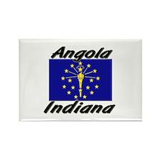 Angola Indiana Rectangle Magnet