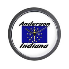 Anderson Indiana Wall Clock