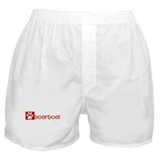 Boerboel (dog paw red) Boxer Shorts