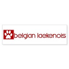 Belgian Laekenois (dog paw re Bumper Bumper Sticker