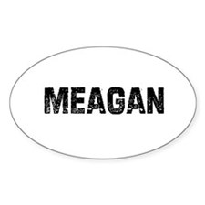 Meagan Oval Decal