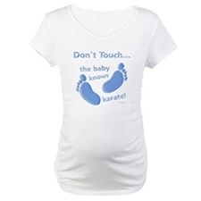Karate Baby Blue Shirt