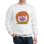 Halloween Insert Candy Here Sweatshirt