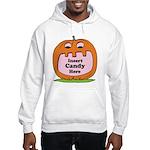 Halloween Insert Candy Here Hooded Sweatshirt