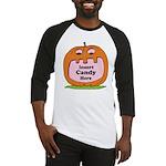 Halloween Insert Candy Here Baseball Jersey