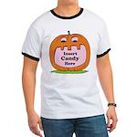 Halloween Insert Candy Here Ringer T