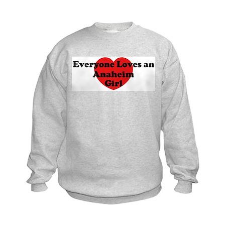 Anaheim girl Kids Sweatshirt
