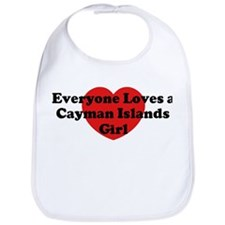 Cayman Islands girl Bib