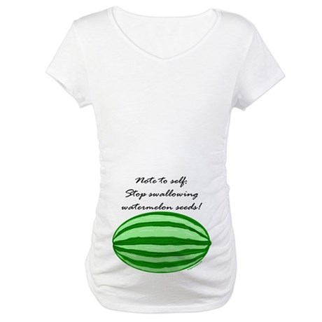 MATERNITY CUT (belly print) T-Shirt