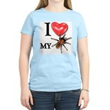 """I LOVE My Tarantula!"" T-Shirt"