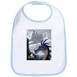 Cute Scary dragon Bib