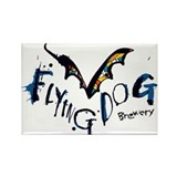 Cute Flying dog brewery Rectangle Magnet (10 pack)