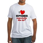 September 23rd Fitted T-Shirt