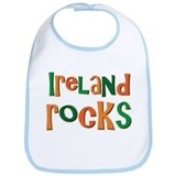 Ireland Rocks Irish Souvenir Bib