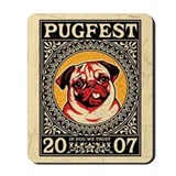PUGFEST 07 Vintage Mousepad