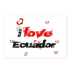I Love Ecuador Postcards (Package of 8)