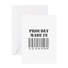 Proudly Made in Ecuador Greeting Card