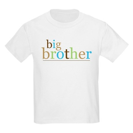 Big Bro (fun) Kids Light T-Shirt