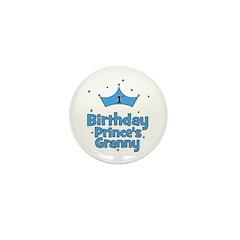 1st Birthday Prince's Granny! Mini Button