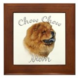 Chow Mom2 Framed Tile