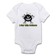 I Play With Bacteria Infant Bodysuit