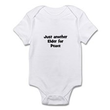 Just another Elder for Peace Infant Bodysuit
