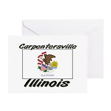 Carpentersville Illinois Greeting Cards (Pk of 10)