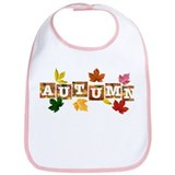 Autumn Leaves Bib