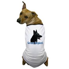 GSD(black) Name Dog T-Shirt