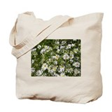 Frost Asters Tote Bag