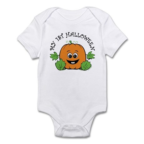 My First Halloween [Pumpkin] Infant Bodysuit