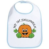 My First Halloween [Pumpkin] Bib