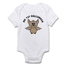 My First Halloween [Baby Bat] Infant Bodysuit
