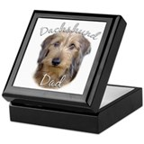 Dachshund Dad2 Keepsake Box