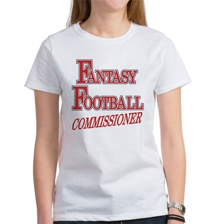 Fantasy Football Commissioner Women's T-Shirt