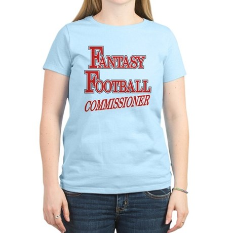 Fantasy Football Commissioner Women's Light T-Shir