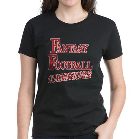 Fantasy Football Commissioner Women's Dark T-Shirt