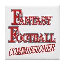 Fantasy Football Commissioner Tile Coaster