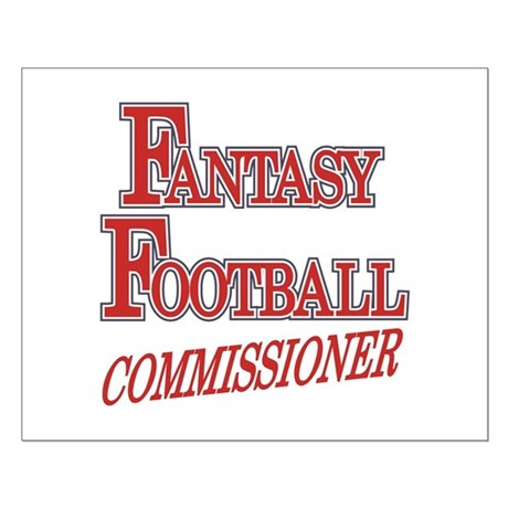 Fantasy Football Commissioner Small Poster