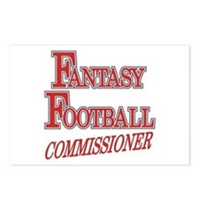 Fantasy Football Commissioner Postcards (Package o