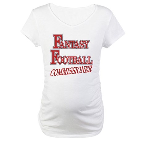 Fantasy Football Commissioner Maternity T-Shirt