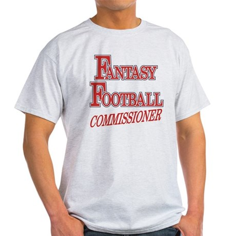 Fantasy Football Commissioner Light T-Shirt