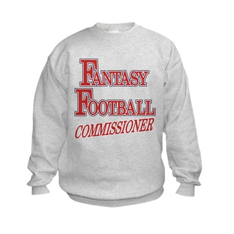 Fantasy Football Commissioner Kids Sweatshirt