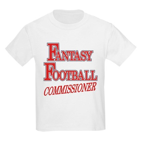Fantasy Football Commissioner Kids Light T-Shirt