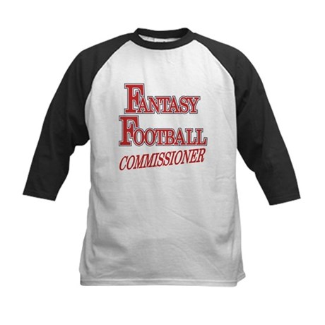 Fantasy Football Commissioner Kids Baseball Jersey