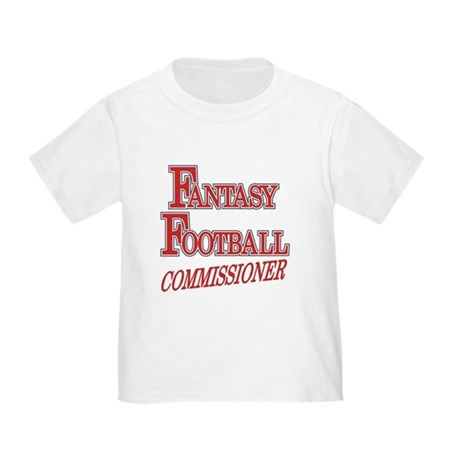 Fantasy Football Commissioner Toddler T-Shi