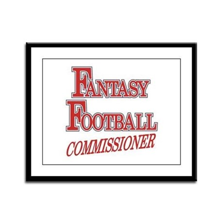 Fantasy Football Commissioner Framed Panel Print