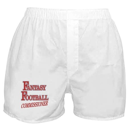 Fantasy Football Commissioner Boxer Shorts