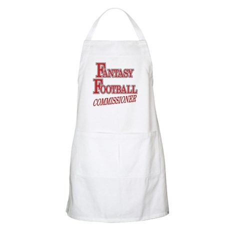 Fantasy Football Commissioner BBQ Apron