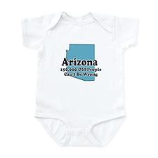 Arizona Retirement Infant Bodysuit